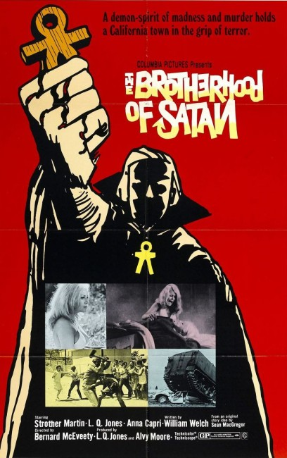 Brotherhood of Satan (1971) poster