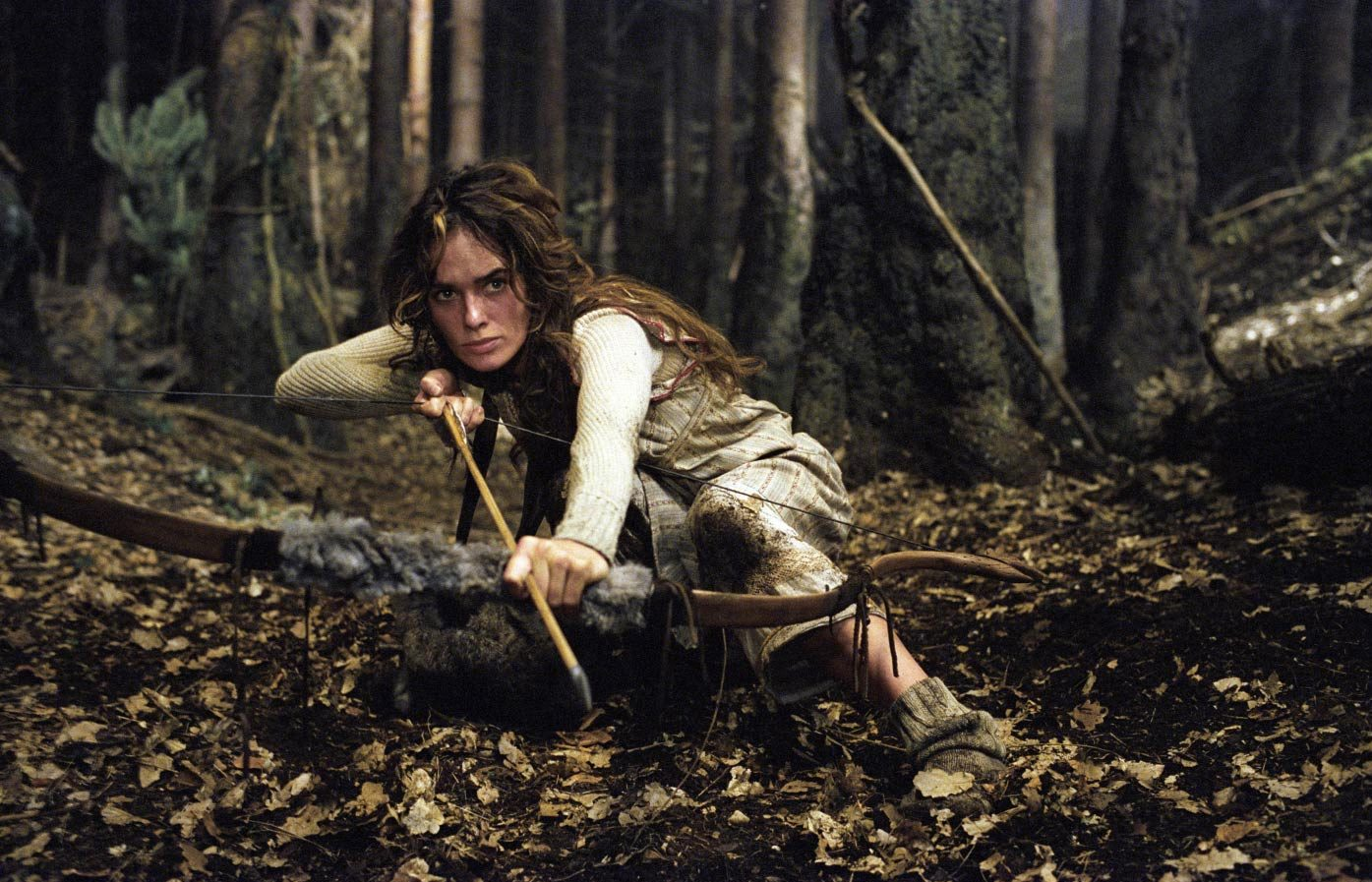 Lena Headey as the huntress Angelika in The Brothers Grimm (2005)