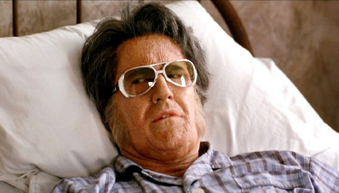 Bruce Campbell as the aging Elvis Presley in a retirement home in Bubba Ho-Tep (2002)