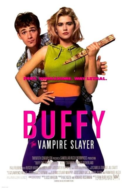Buffy the Vampire Slayer (1992) poster