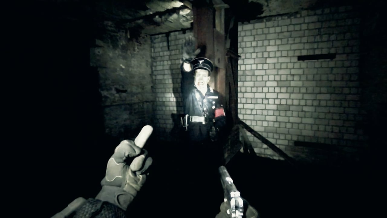 Nazi zombies First Person Shooter style in Bunker of the Dead (2015)