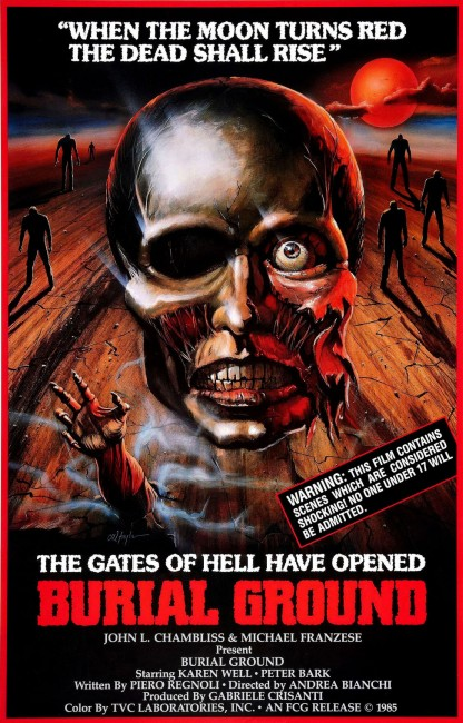 Burial Ground (1981) poster