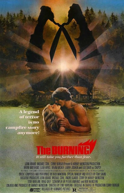 The Burning (1981) poster