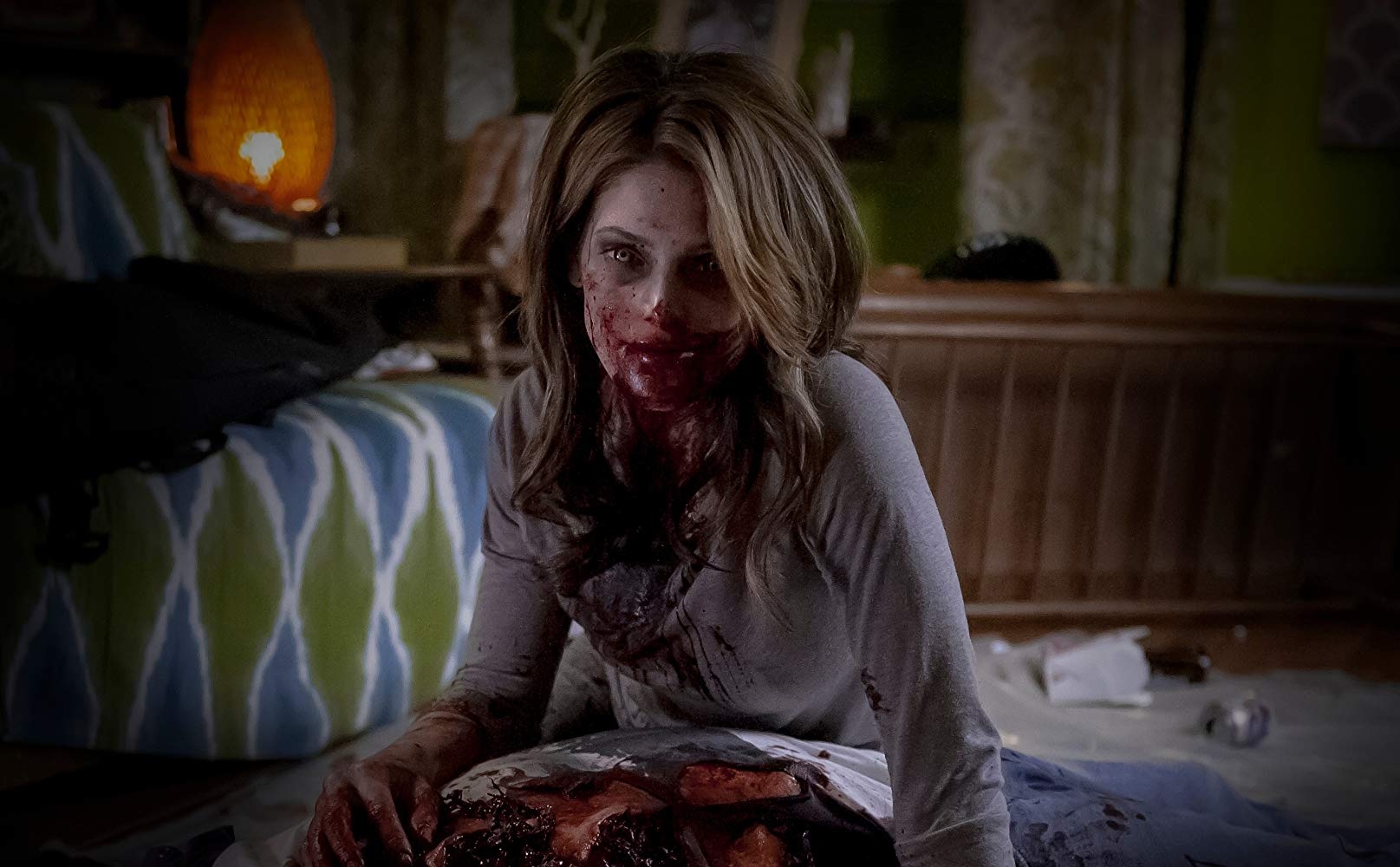 Zombie ex-girlfriend Ashley Greene in Burying the Ex (2014)