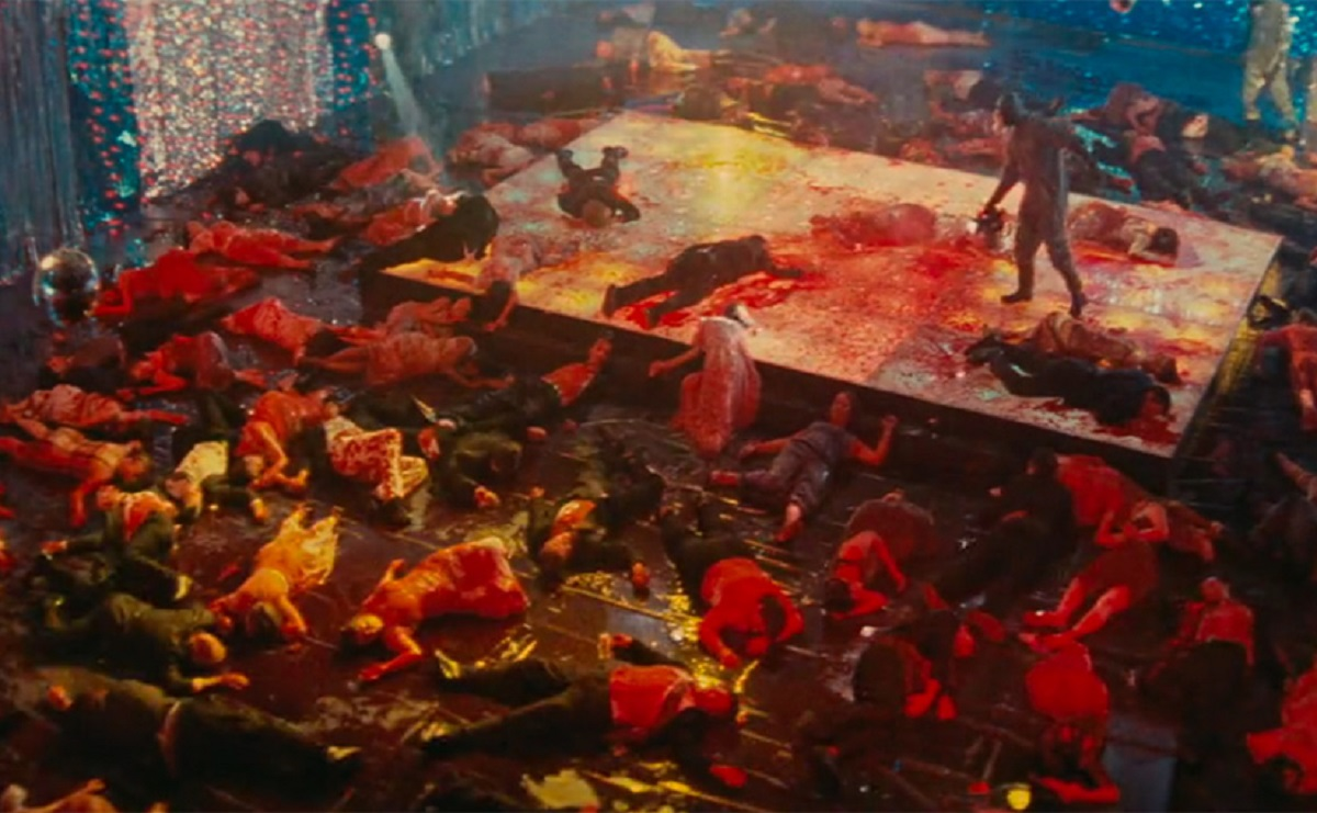 A gore drenched prom in Cabin Fever 2: Spring Fever (2009)