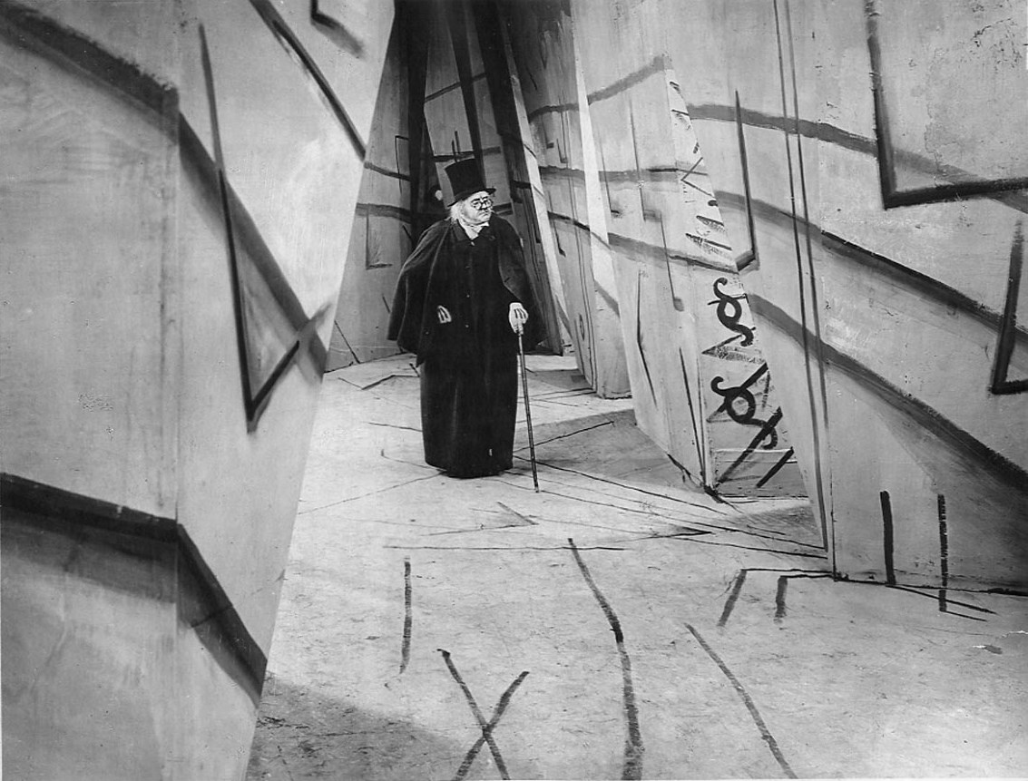 Dr Caligari (Werner Krauss) in The Cabinet of Dr Caligari (1919)