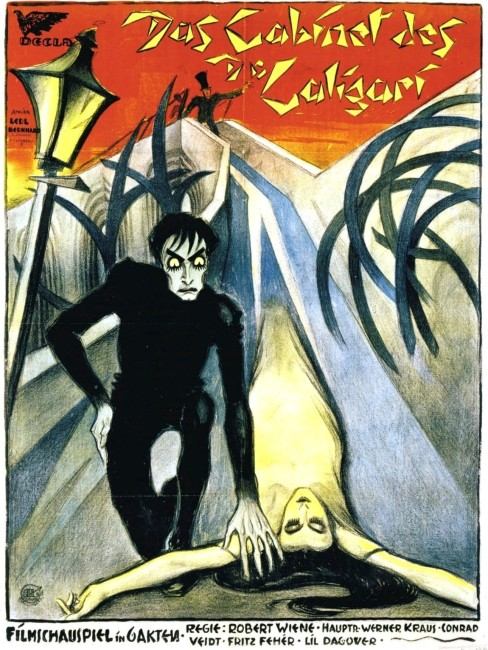 The Cabinet of Dr Caligari (1919) poster