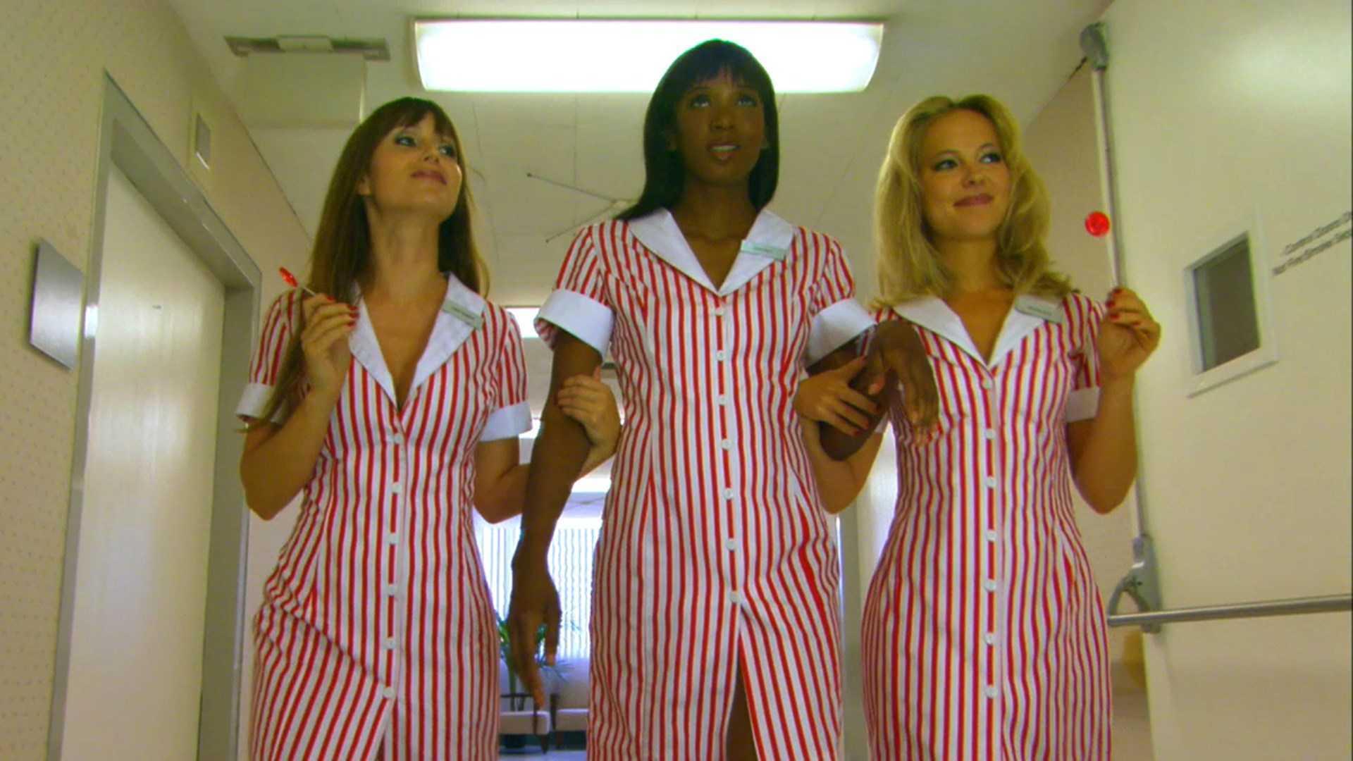 Deanna Brooks, Serria Twan and Nicole Rayburn in Candy Stripers (2006)