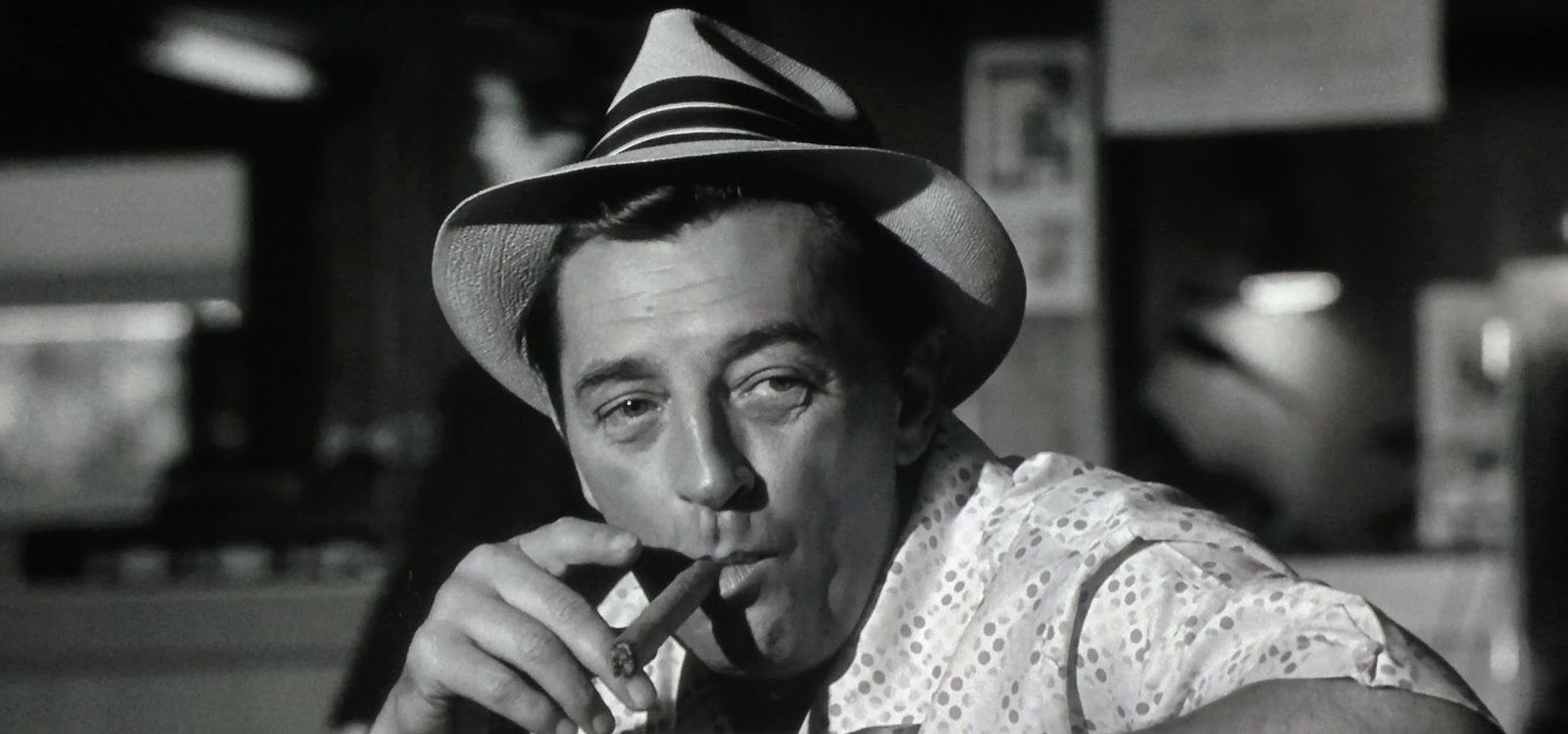 Robert Mitchum as Max Cady in Cape Fear (1962)