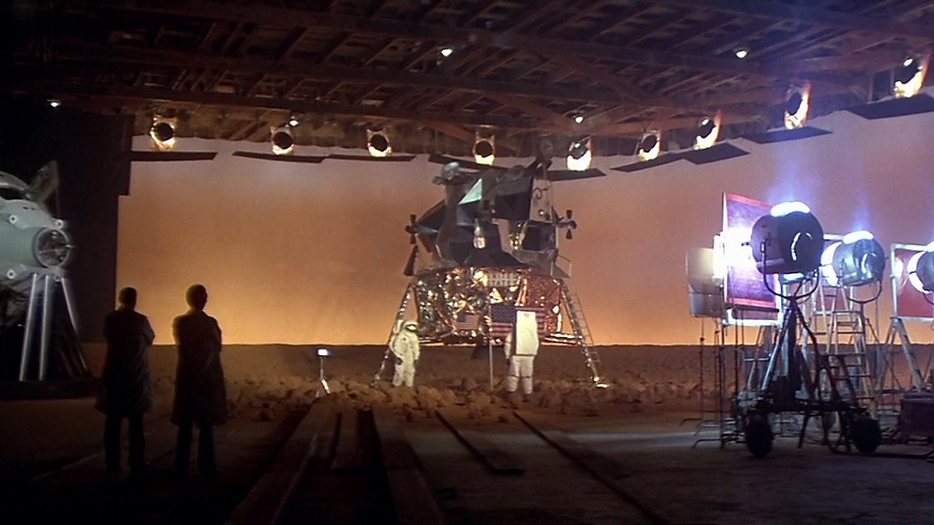 The set for the faking of a Mars landing via tv transmissions in Capricorn One (1978)