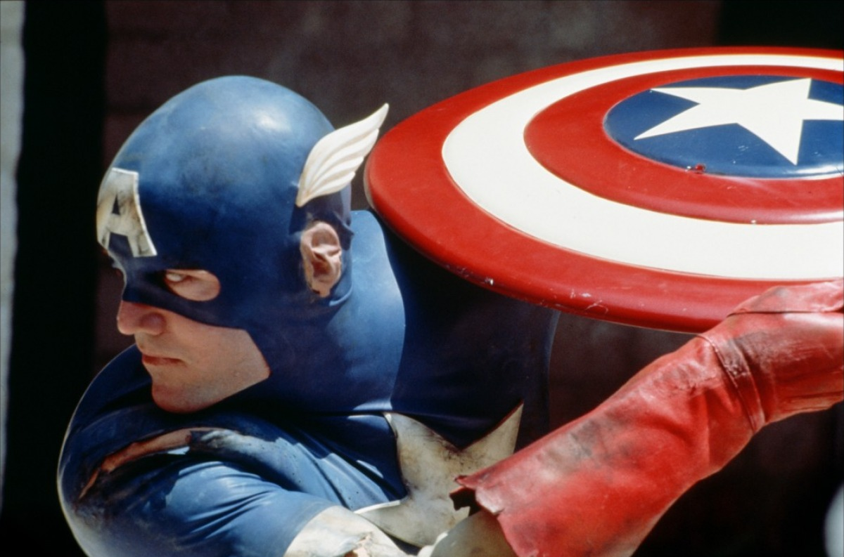 Matt Salinger as Captain America (1990)
