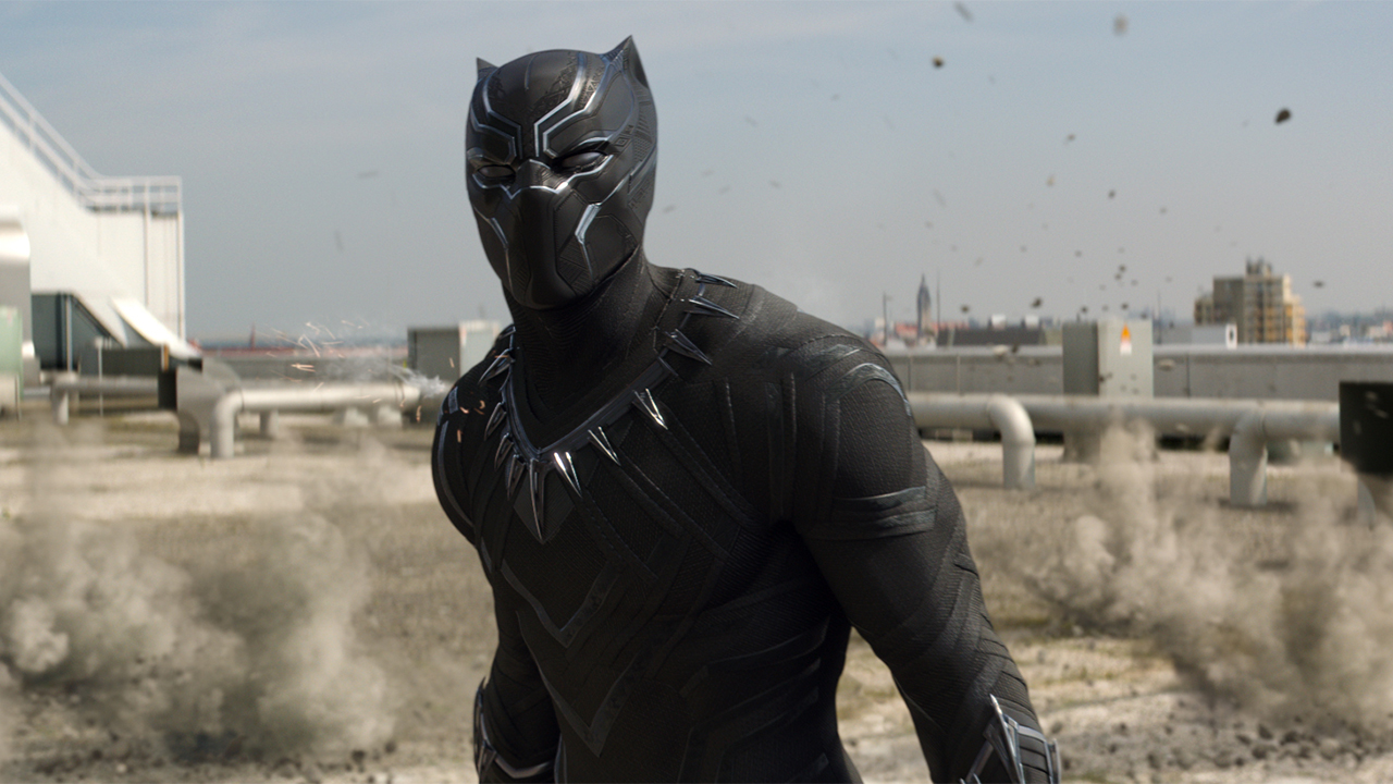 Black Panther (Chadwick Boseman) in Captain America: Civil War (2016)