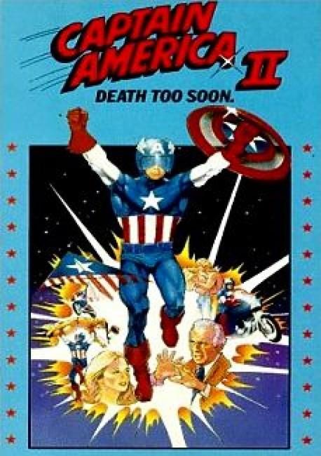 Captain America II (1979) video cover2