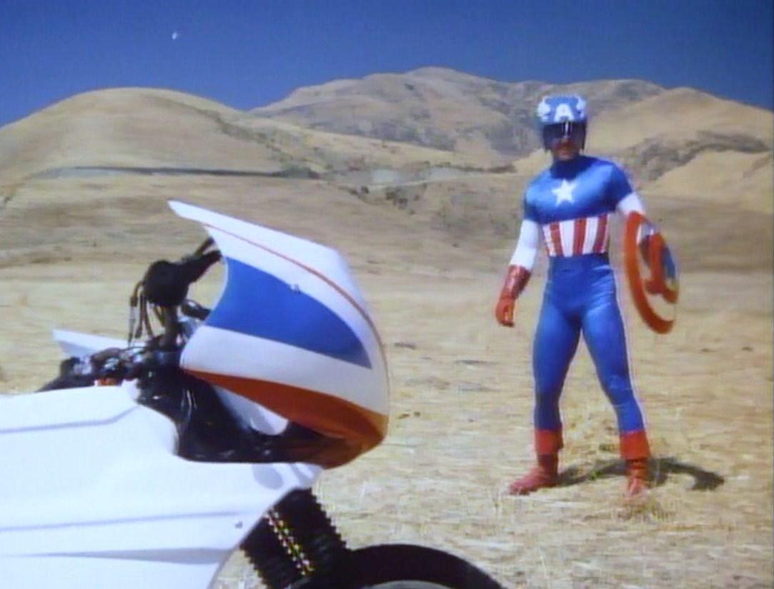 Reb Brown in Captain America II (1979)