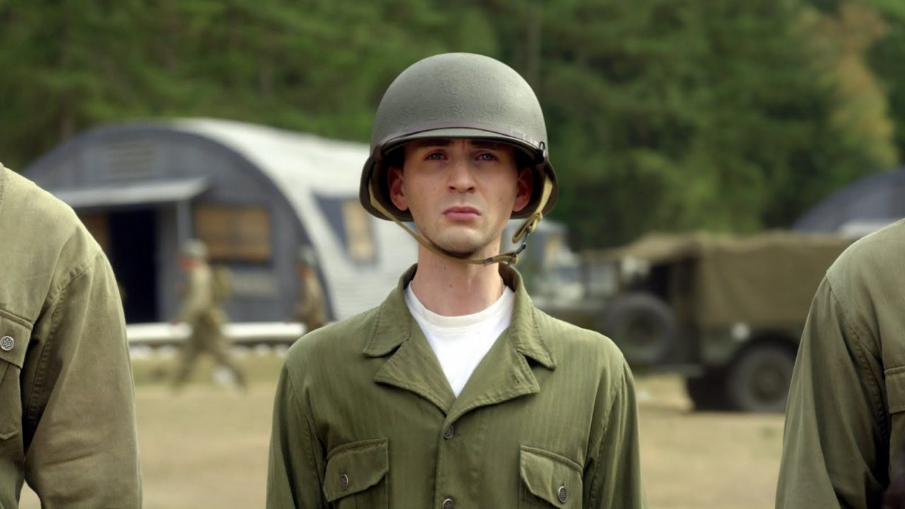 Steve Rogers (Chris Evans) in Captain America: The First Avenger (2011)