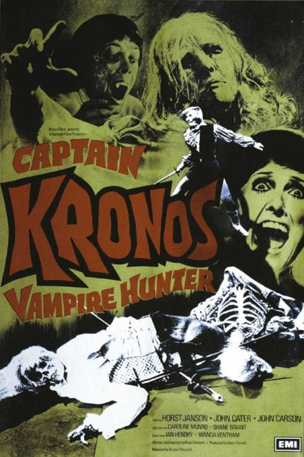 Captain Kronos, Vampire Hunter (1974) poster