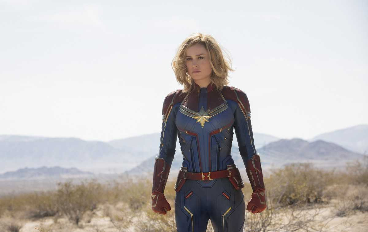Brie Larson as Captain Marvel (2019)