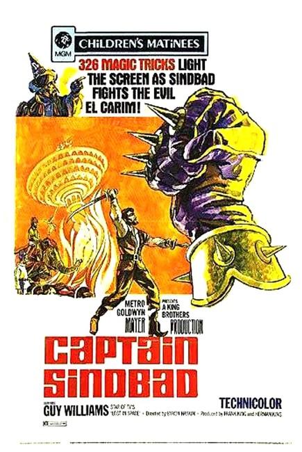 Captain Sindbad (1963) poster