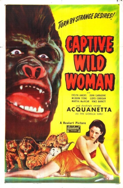 Captive Wild Woman (1943) poster