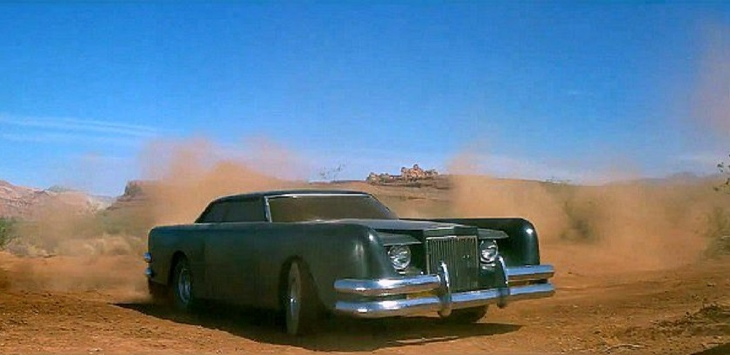 The possessed car (a modified 1971 Lincoln Continental Mark III) in The Car (1977)