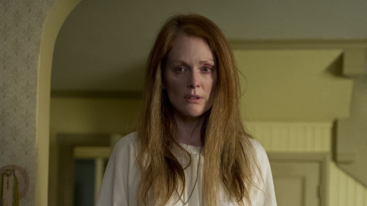 Julianne Moore as the mother in Carrie (2013)