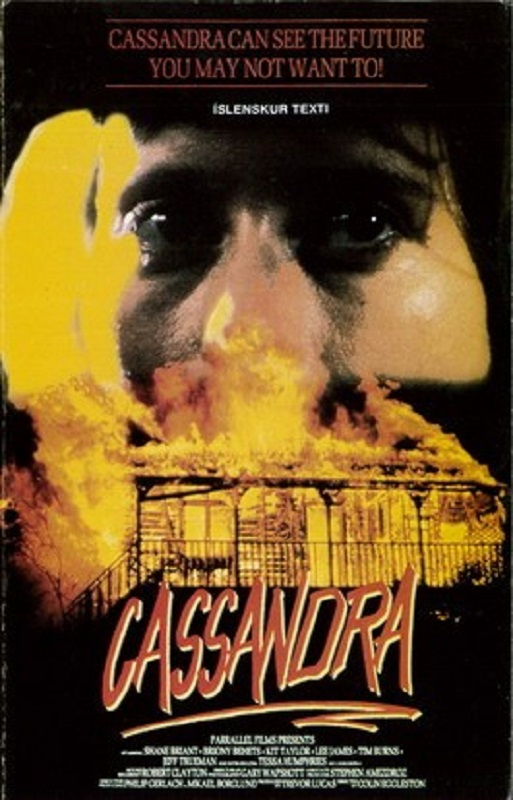 Cassandra (1987) poster