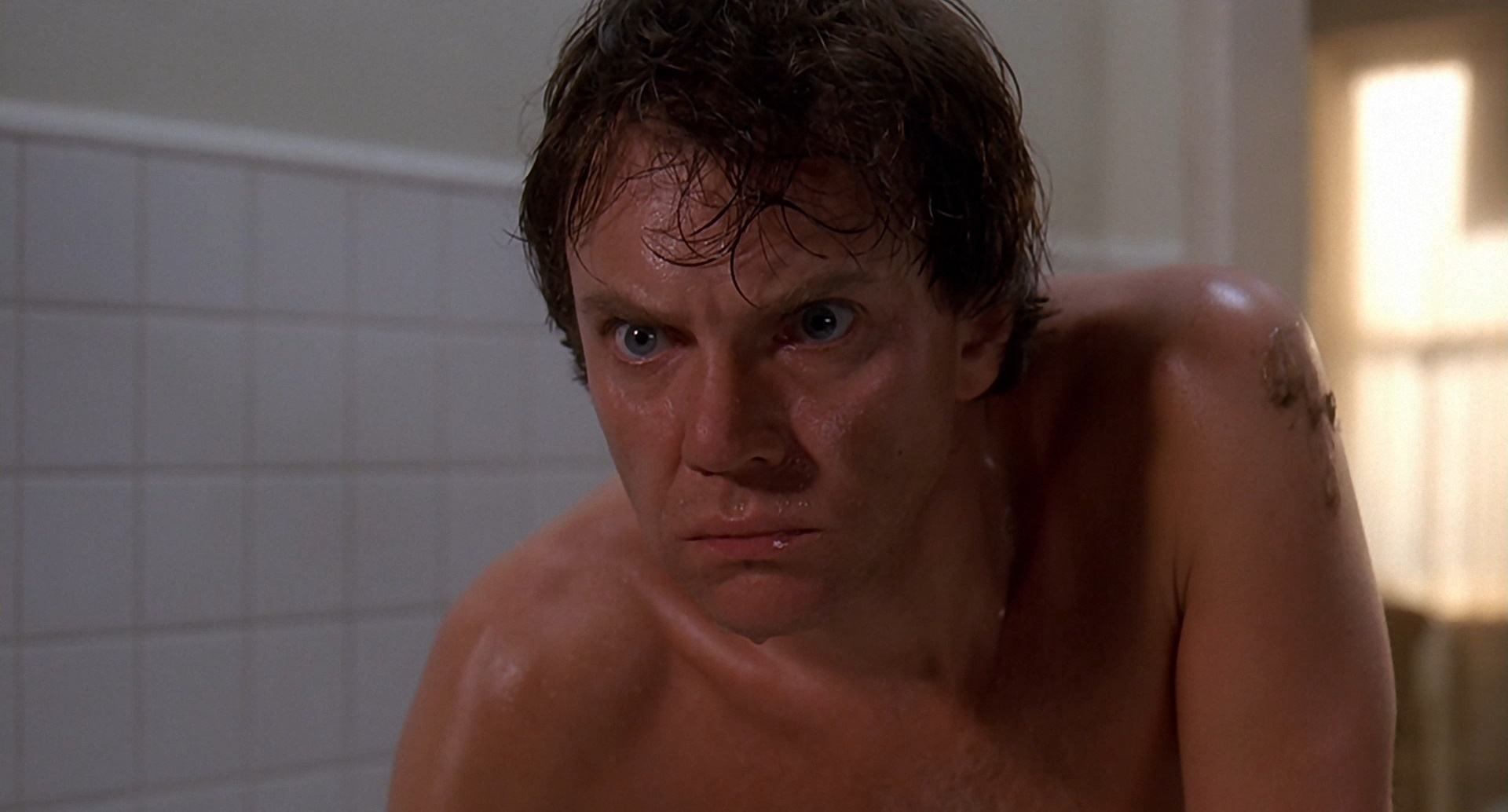 Malcolm McDowell as Paul Gallier in Cat People (1982)