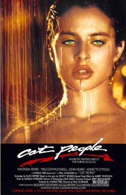 Cat People (1982) poster