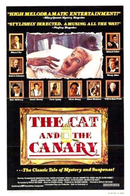 The Cat and the Canary (1978) poster