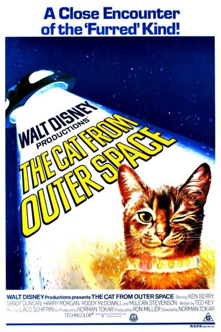 The Cat from Outer Space (1978) poster