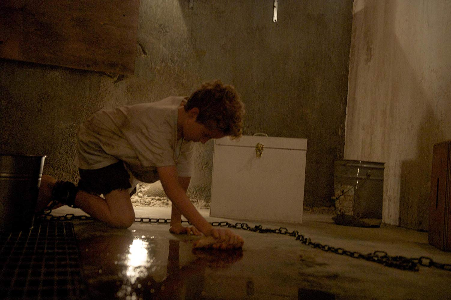 Young Rabbit (Tim Bird) a prisoner in Chained (2012)