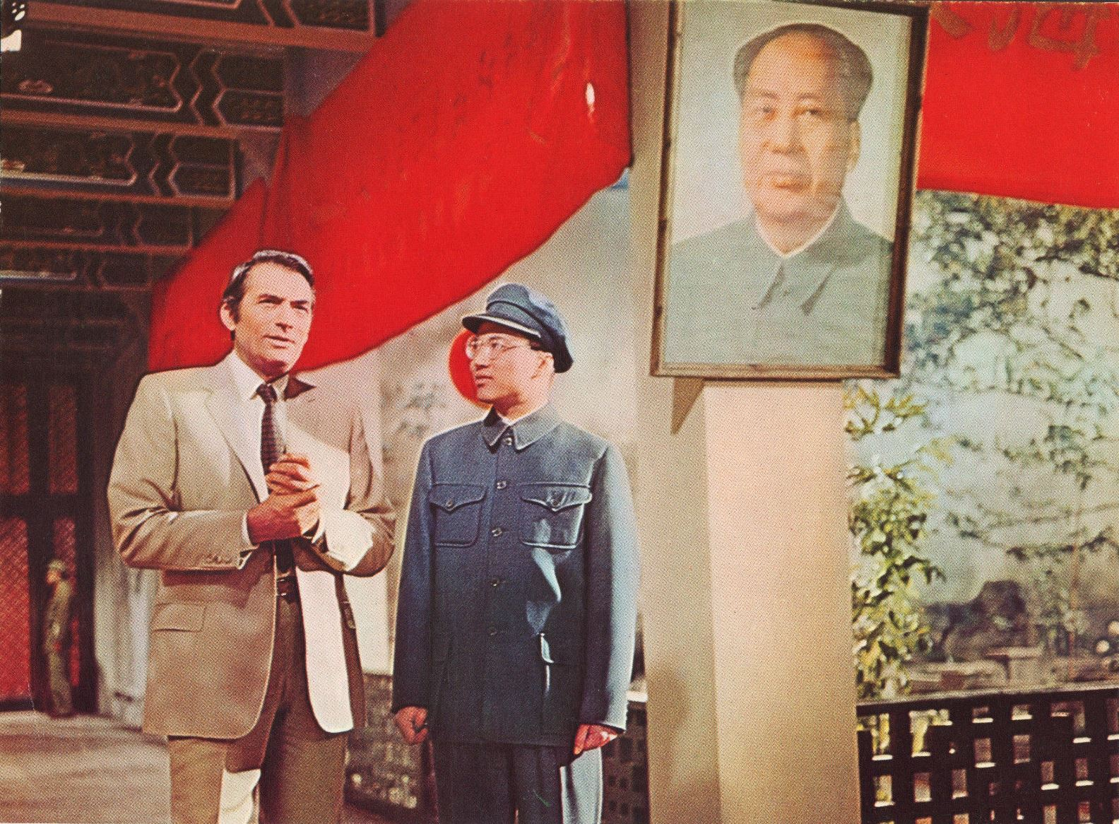 Gregory Peck in Communist China in The Chairman (1969)