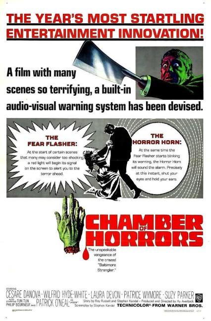 Chamber of Horrors (1966) poster