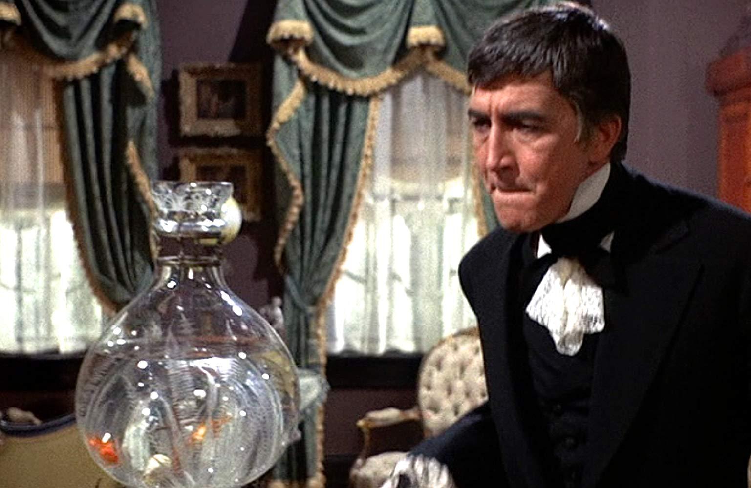 Patrick O'Neal as mad killer Jason Cravette in Chamber of Horrors (1966)
