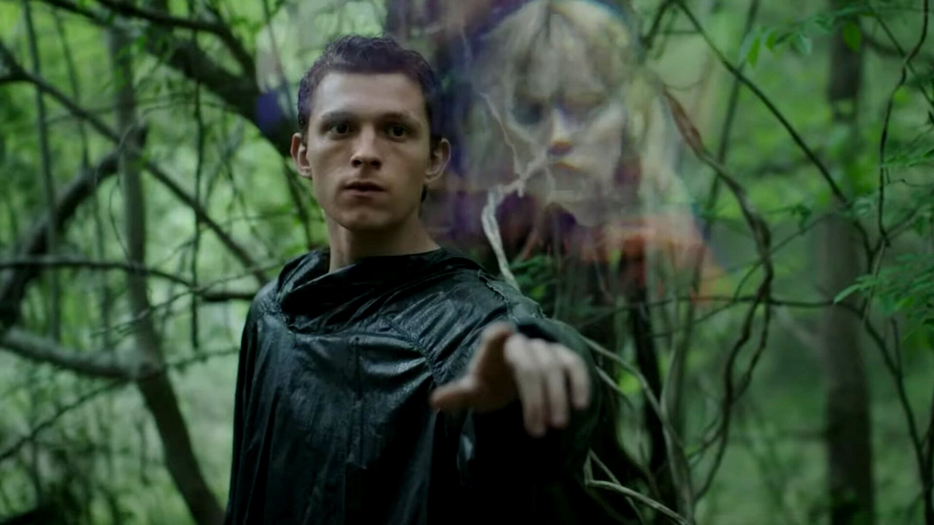 Tom Holland demonstrates The Noise in Chaos Walking (2021)