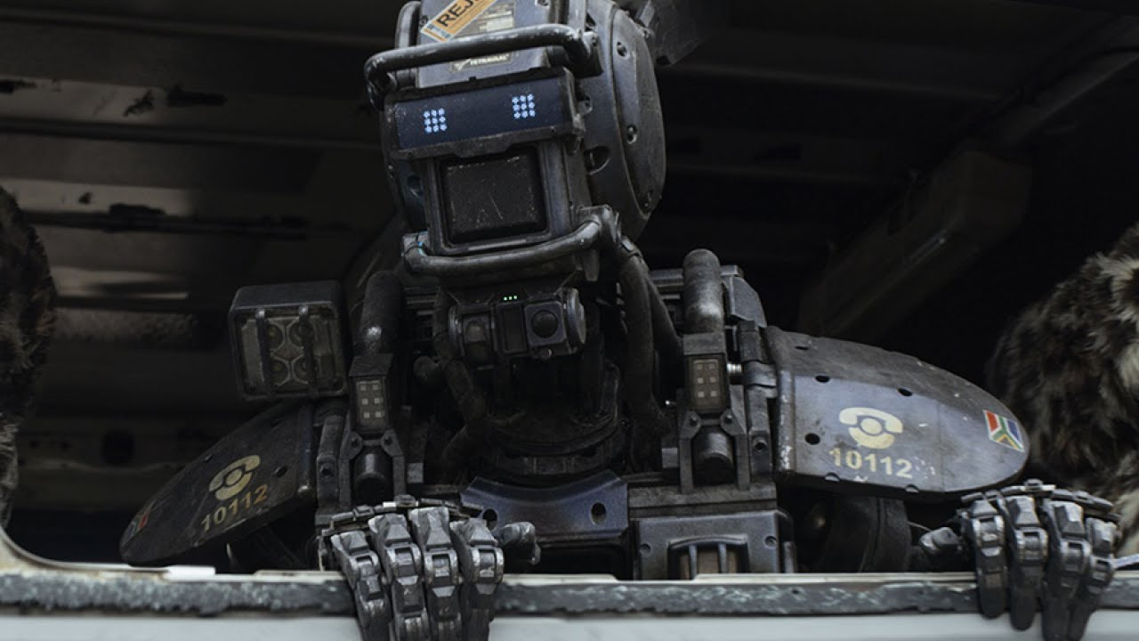 Chappie in Chappie (2015)