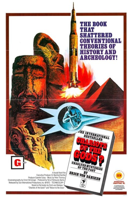 Chariots of the Gods (1970) poster