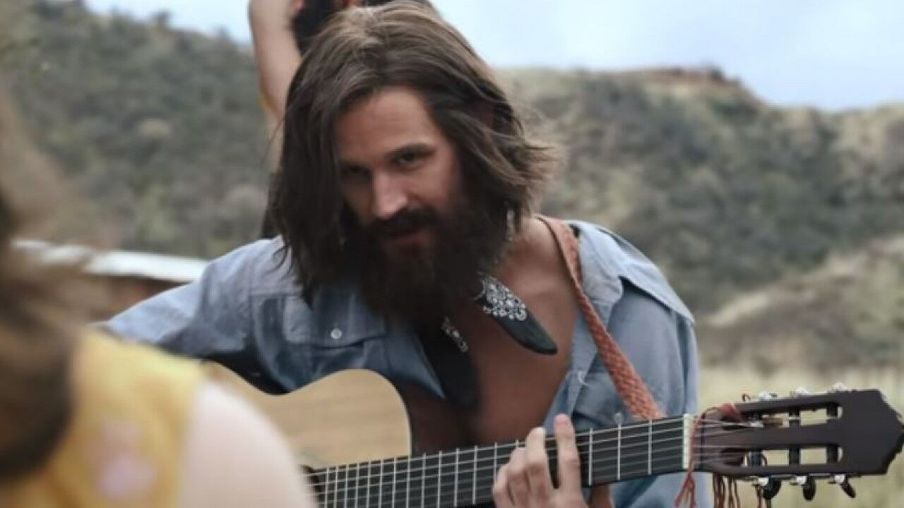 Matt Smith as Charles Manson in Charlie Says (2018)