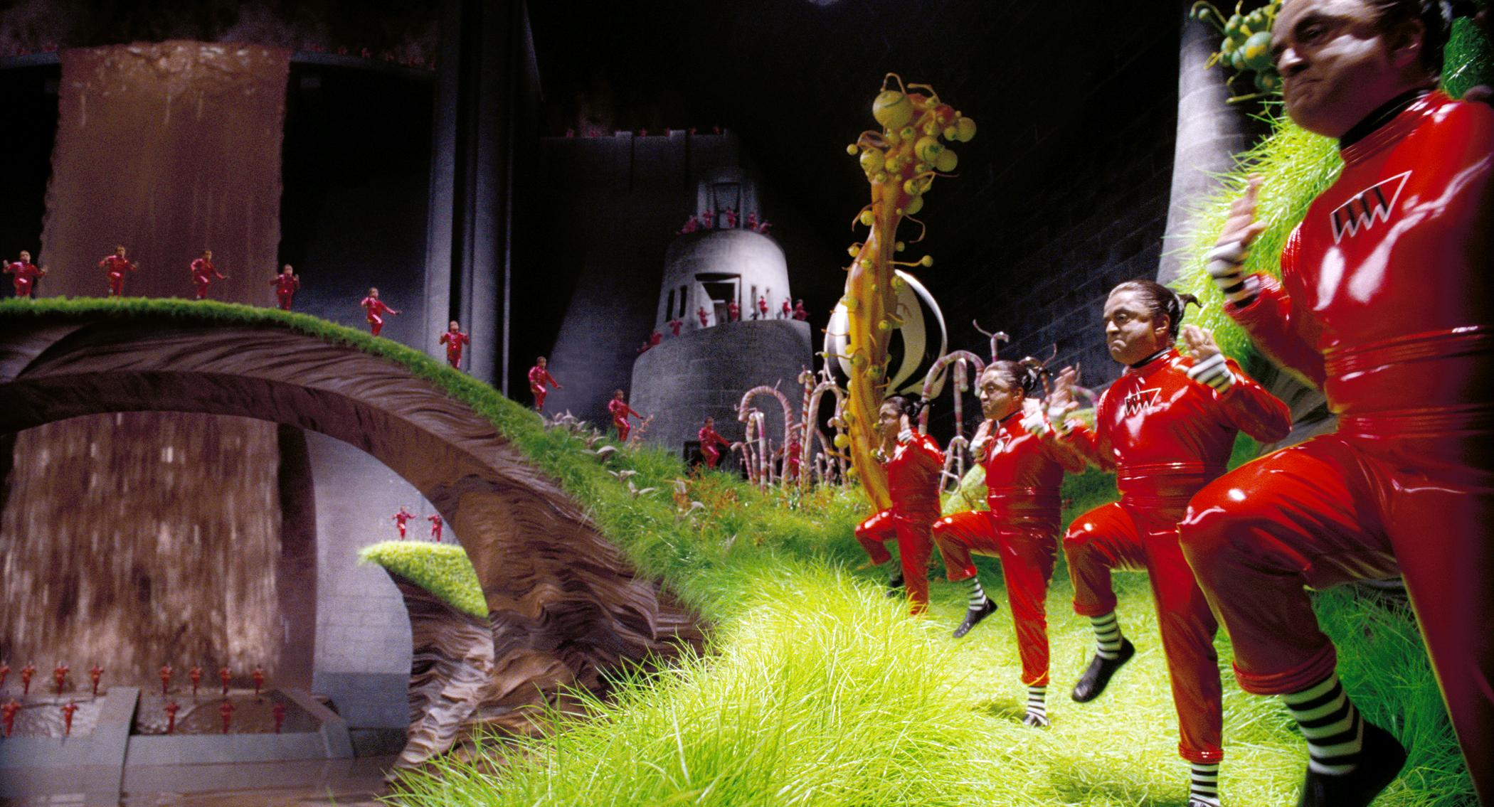 Dancing Oompa Loompas (all played by Deep Roy) in Charlie and the Chocolate Factory (2005)