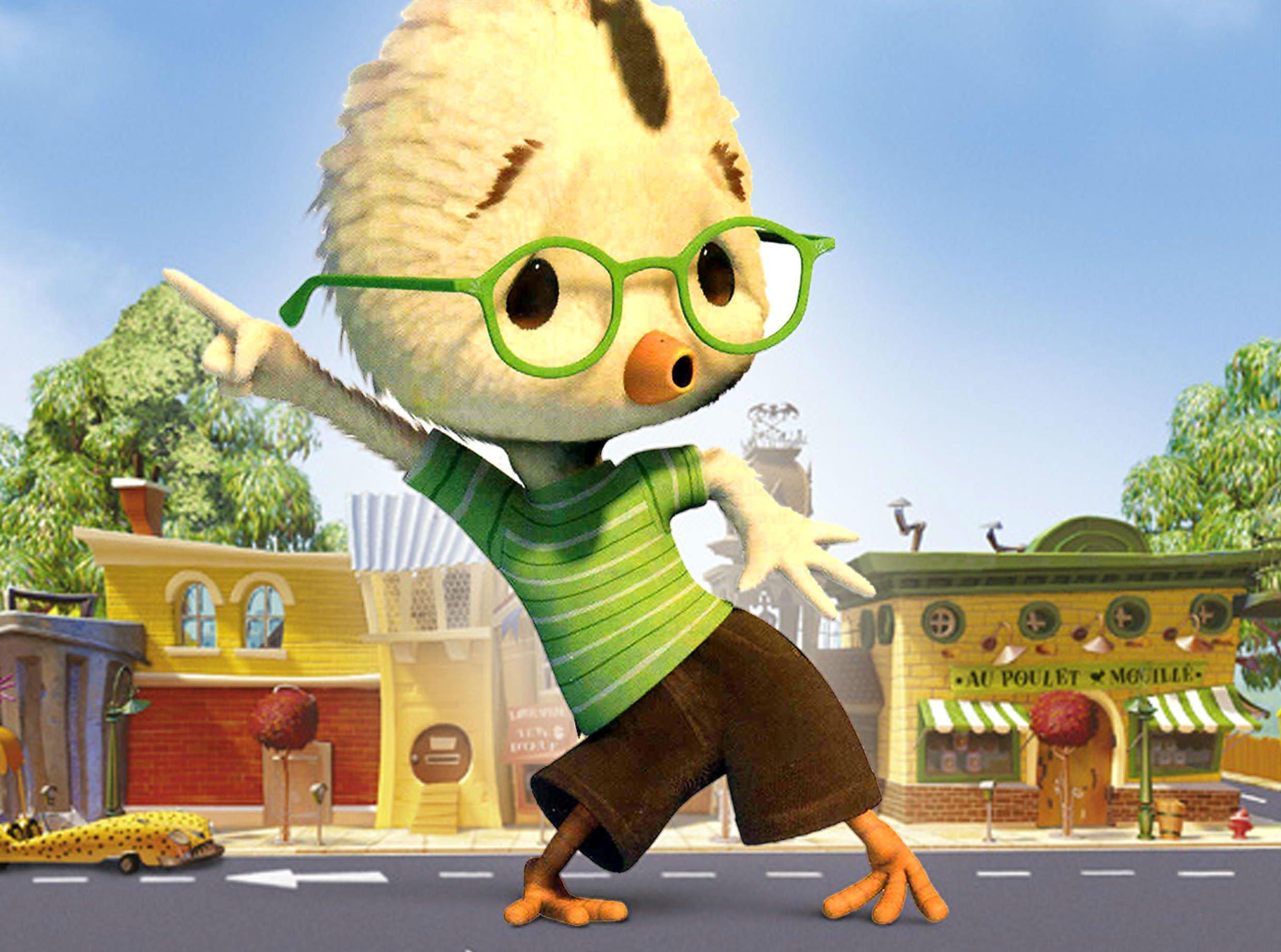 Chicken Little (voiced by Zach Braff) in Chicken Little (2005)