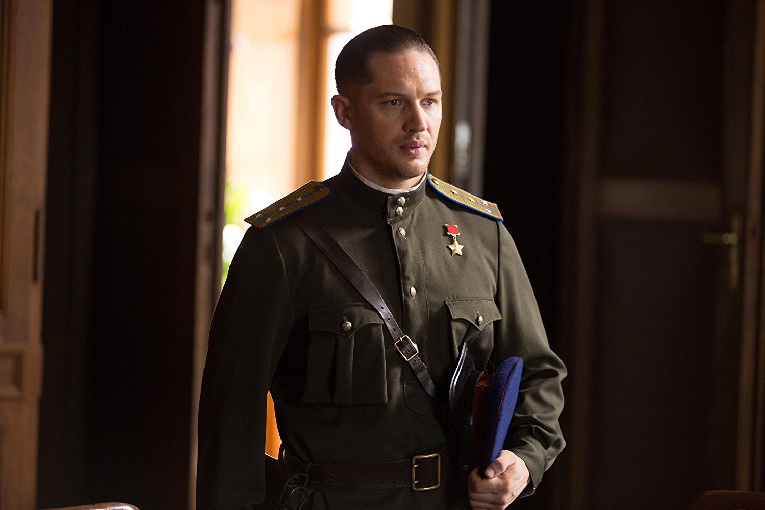 Tom Hardy as Leo Demidov in Child 44 (2015)