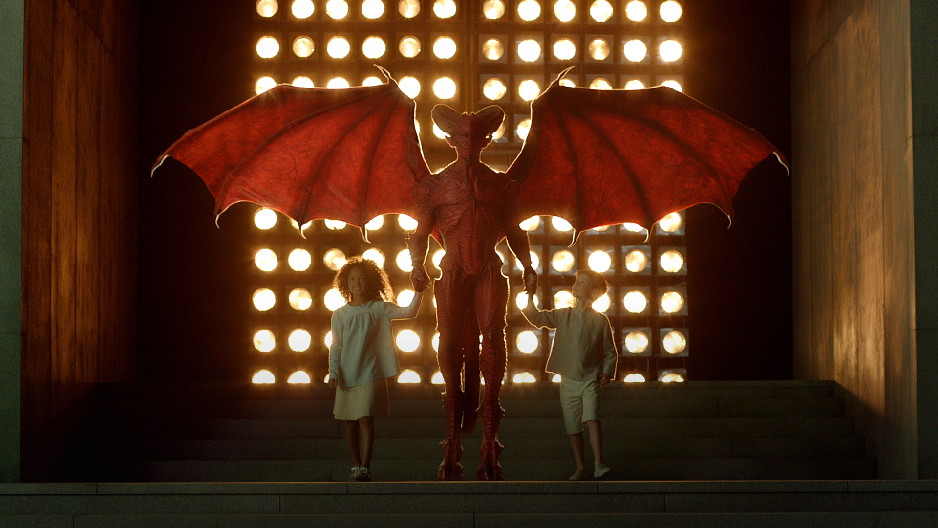 The appearance of The Overlords in Childhood's End (2015)