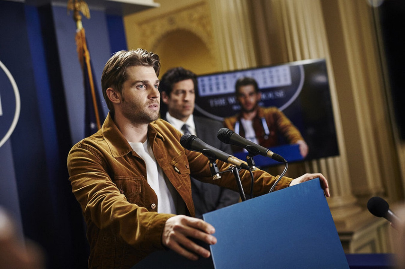 Mike Vogel as Ricky Stormgren in Childhood's End (2015)