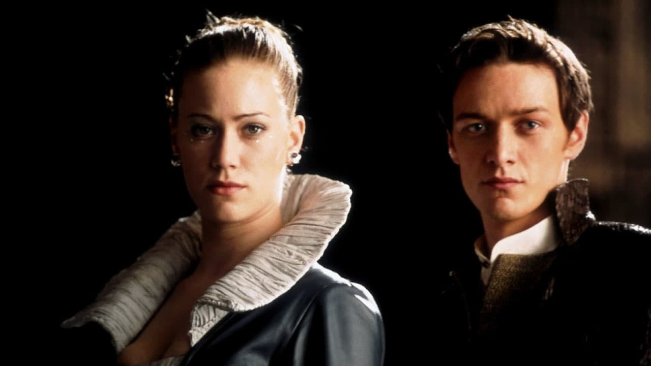 James McAvoy as Leto and Jessica Brooks as Ghanima in Children of Dune (2003)