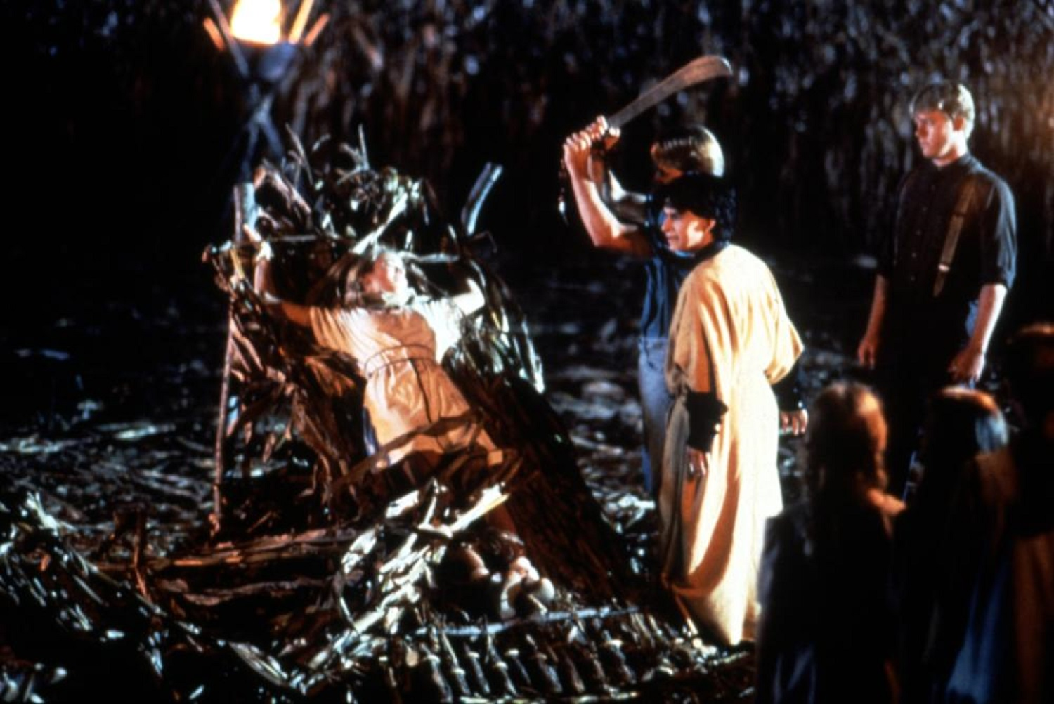 Sacrifices in the corn field in Children of the Corn II: The Deadly Sacrifice (1992)