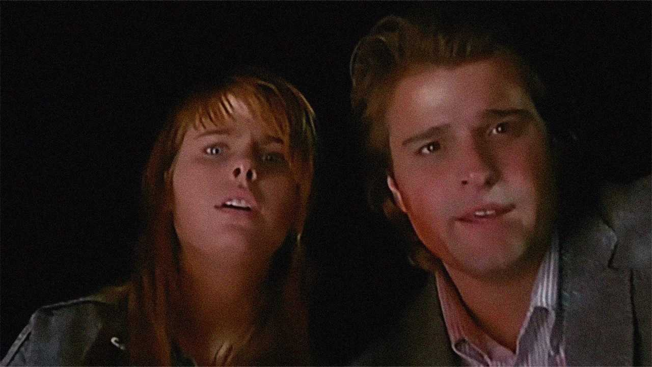 Ami Dolenz and Peter DeLuise in Children of the Night (1991)