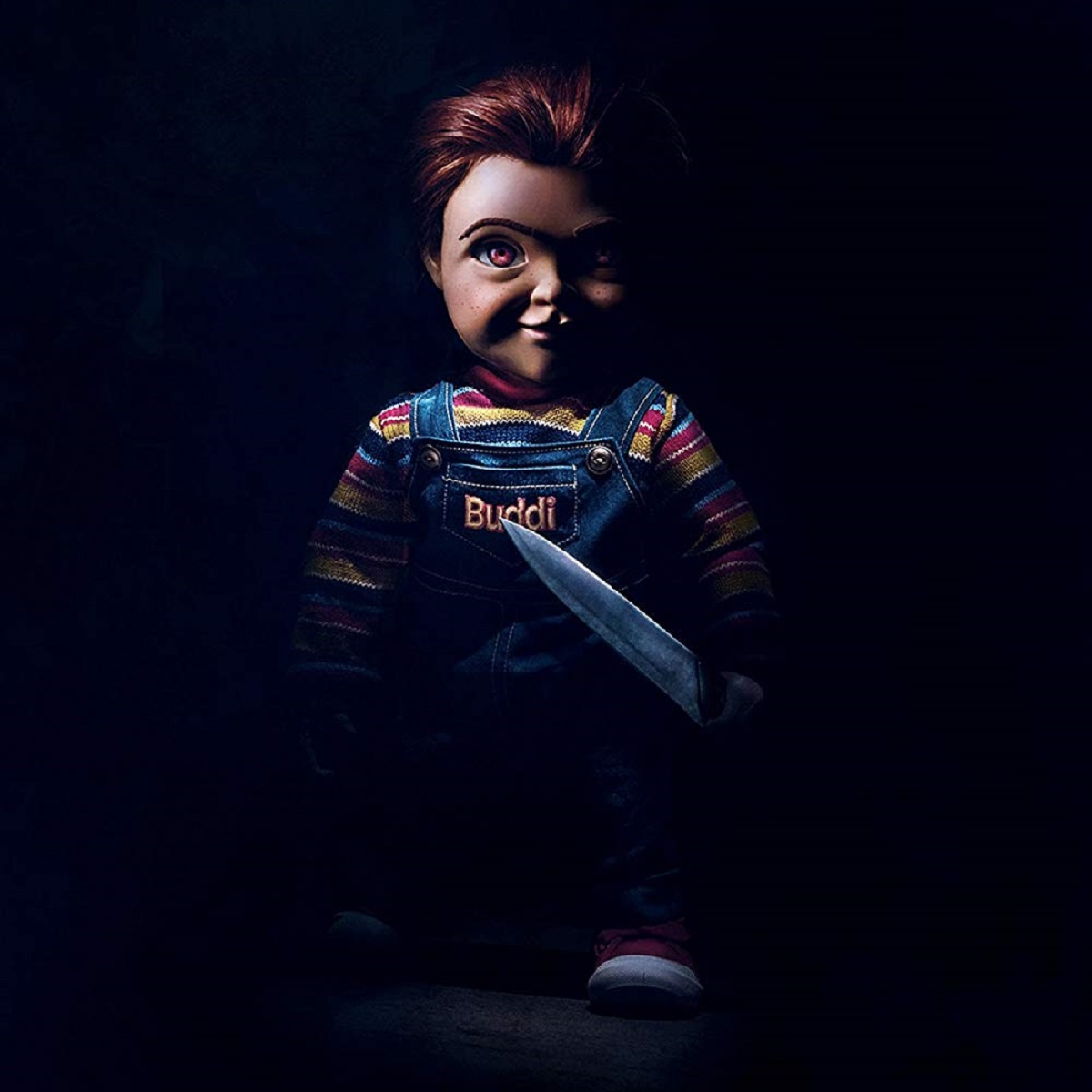 The new artificially intelligent smart toy version of Chucky (voiced by Mark Hammill) in Child's Play (2019)