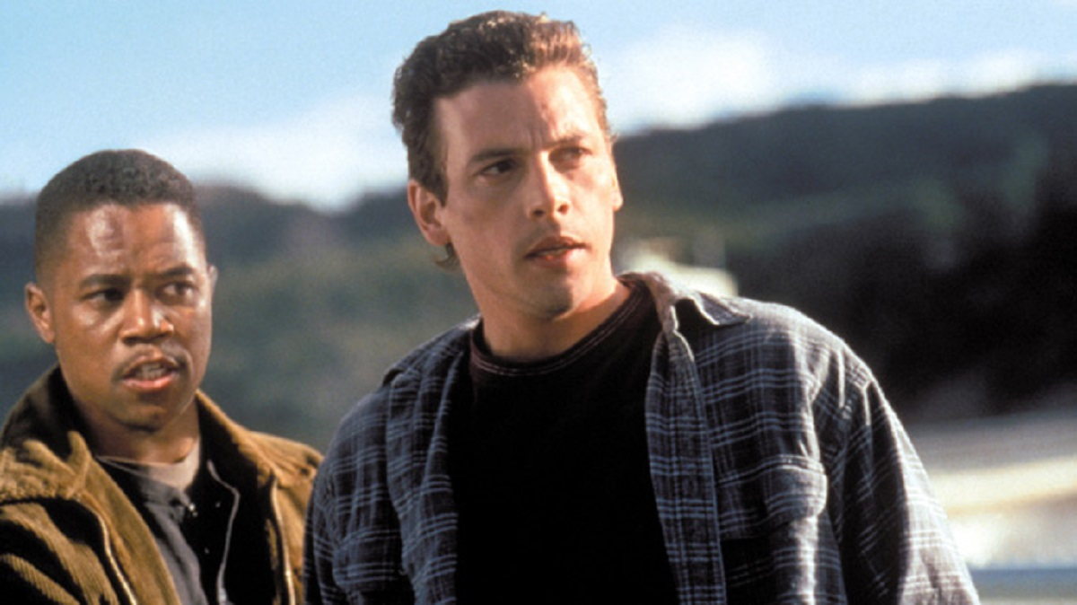 Cuba Goding Jr and Skeet Ulrich in Chill Factor (1999)