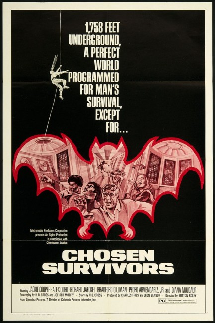 Chosen Survivors (1974) poster
