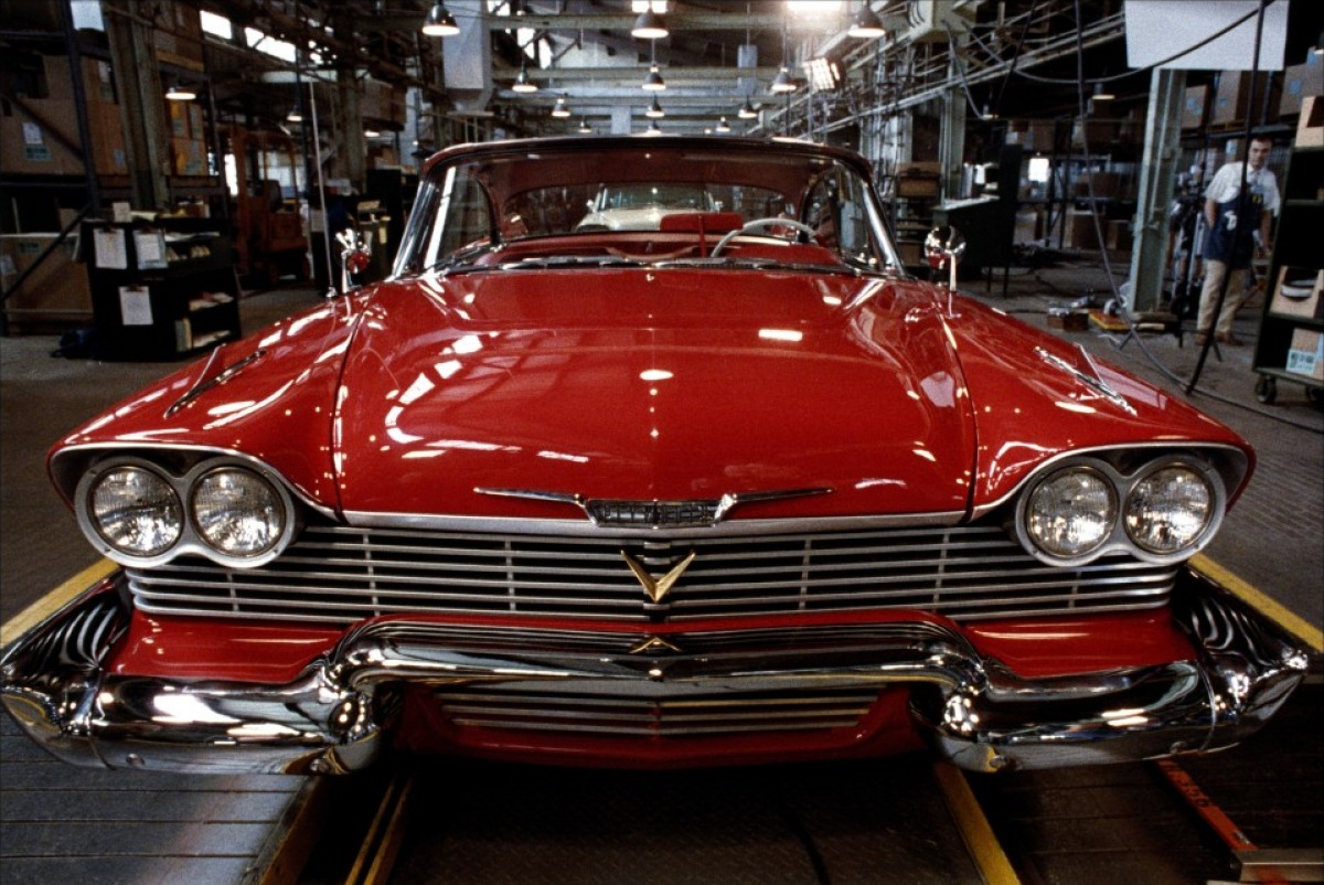Christine herself - a 1958 Plymouth Fury